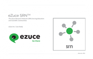 eZuce SRN , research network case study
