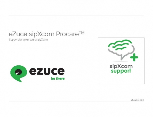 sipXcom ProCare Technical Support Brochure